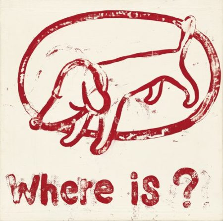 Yoshitomo Nara-Where Is?-1995