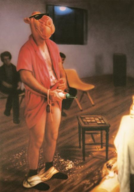 Zhou Tiehai-Ego Project: Paul Mccarthy/Mother Pig-2006