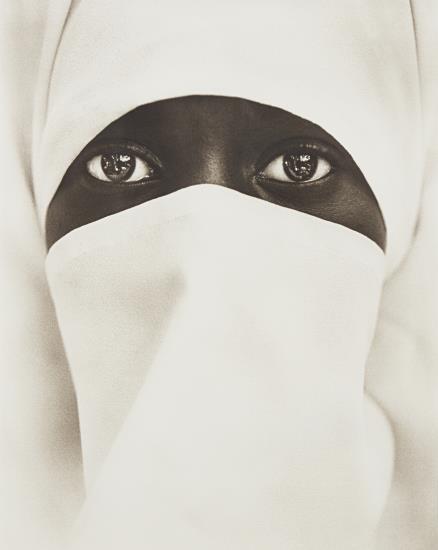 Chester Higgins Jr.-Muslim Woman, New York City-1990