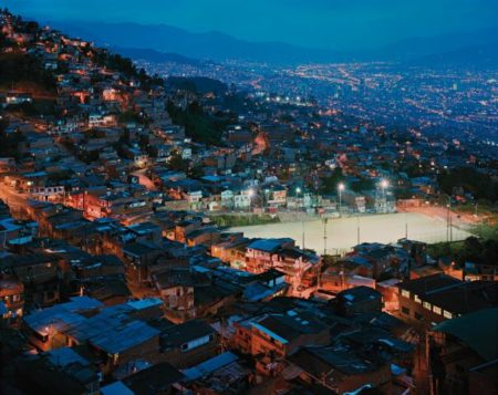 Simon Norfolk-The Granizal District Of Medellin, Columbia-2003