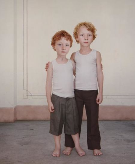 Loretta Lux-Hugo And Dylan 1-2006