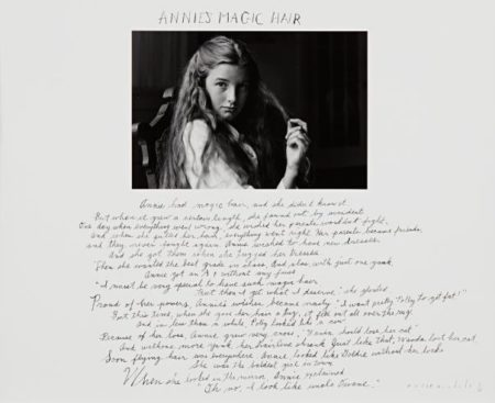 Duane Michals-Annie's Magic Hair-1991