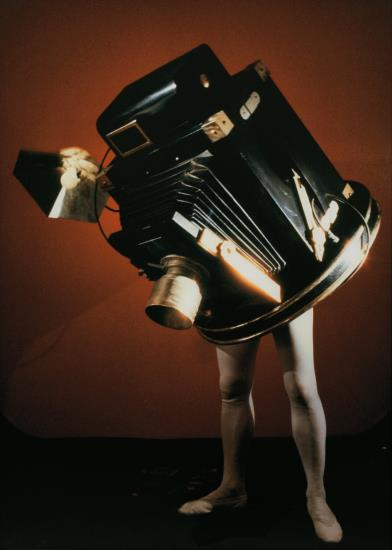 Laurie Simmons-Walking Camera (Jimmy The Camera)-1987