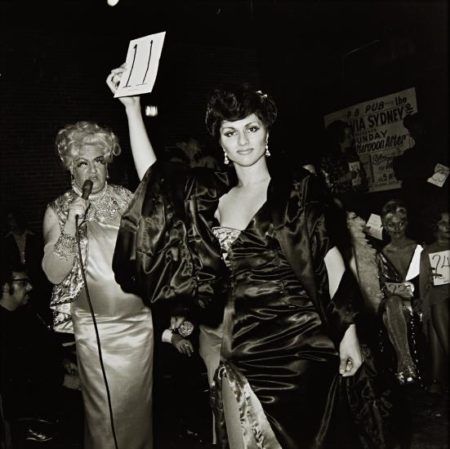 Nan Goldin-Colette Modeling In The Beauty Parade, Boston-1973