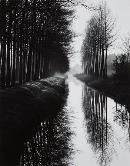 Brett Weston-Holland Canal-1971
