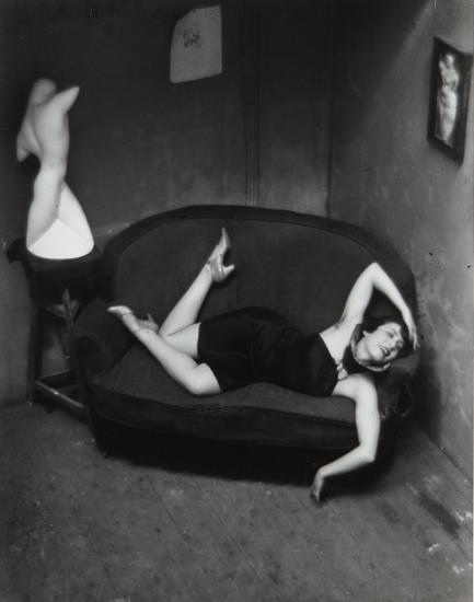 Andre Kertesz-Satiric Dancer, Paris-1926