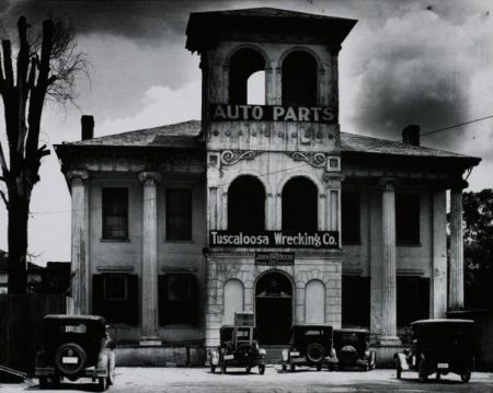 Walker Evans-Tuscaloosa Wrecking Company, Alabama-1936