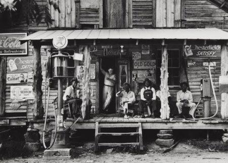 Dorothea Lange-Crossroads Store, Alabama-1937
