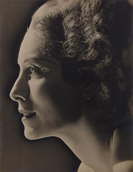 Man Ray-Profile Study Of A Woman-1928