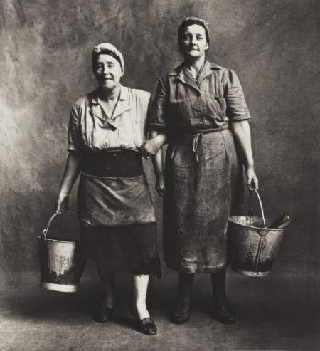 Irving Penn-Cleaning Women, London-1950