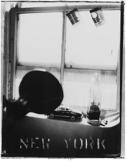 Robert Frank-New York, Pablo's Bottle - Monica's Car-1973