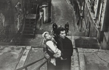 Robert Frank-Mary + Pablo, Paris-1950