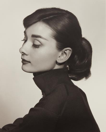 Yousuf Karsh-Audrey Hepburn-1956