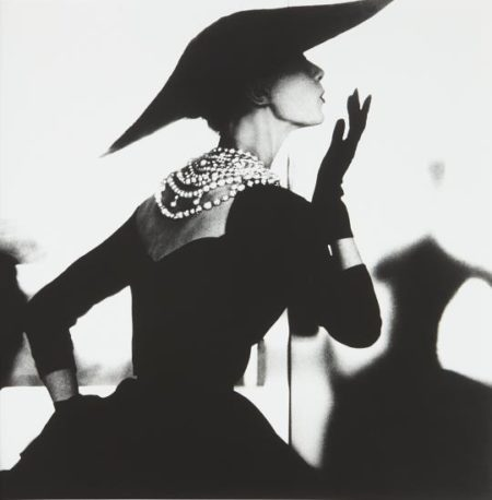 Lillian Bassman-Blowing Kiss, Barbara Mullen, New York-1958