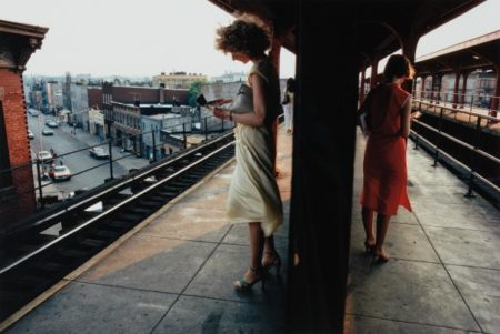 Bruce Davidson-Untitled, Subway, New York-1980