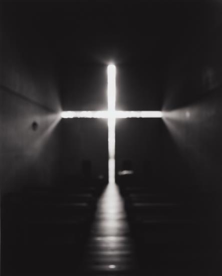 Hiroshi Sugimoto-Church Of Light, Tadao Ando-1997