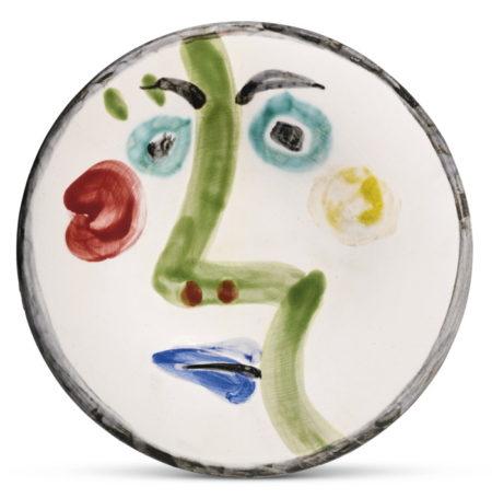 Pablo Picasso-Visage No. 189 (A. R. 491)-1963