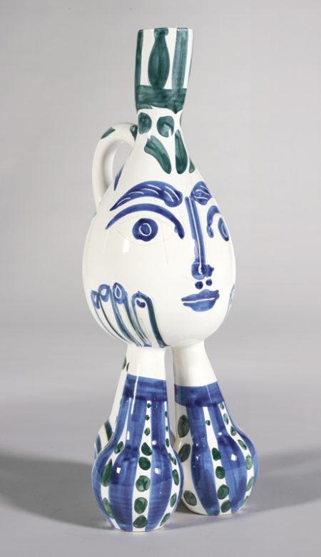 Pablo Picasso-Tripode (A. R. 125)-1951