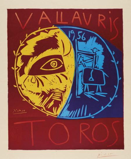 Pablo Picasso-Vallauris 1956 Toros (B. 1270; Ba. 1043; Czw. 18; Pp. L-022)-1956