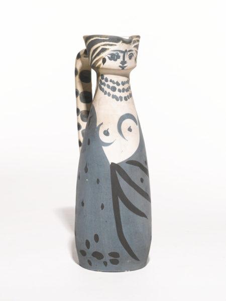 Pablo Picasso-Femme (A. R. 301)-1955