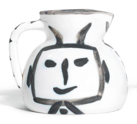 Pablo Picasso-Pichet Tete Carree (A. R. 223)-1953