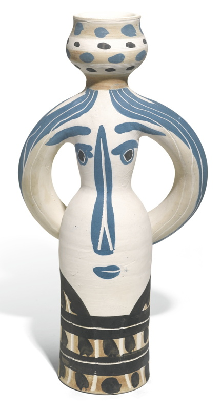 Pablo Picasso-Lampe Femme (See A. R. 294-295, 298-299)-1955