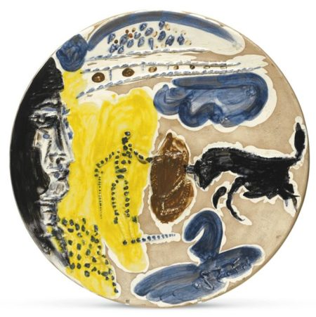 Pablo Picasso-Pase De Muleta (A. R. 420)-1959