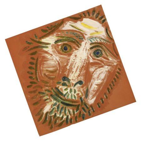 Pablo Picasso-Tete De Lion (A. R. 575)-1968