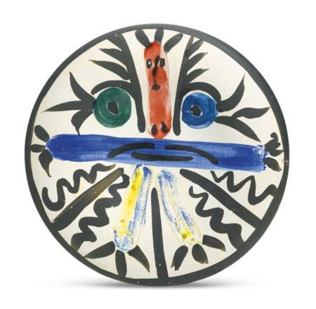 Pablo Picasso-Personnages No. 28 (A. R. 463)-1963