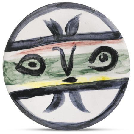 Pablo Picasso-Visage No. 101 (A. R. 475)-1963