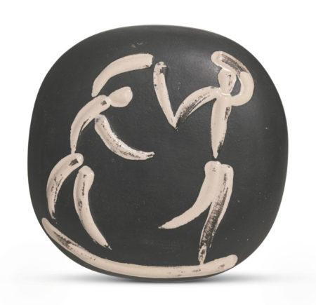 Pablo Picasso-Danseurs (A. R. 388)-1956