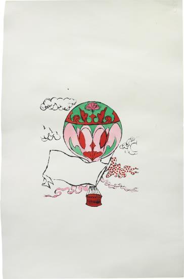 Andy Warhol-Hot Air Balloon-1955