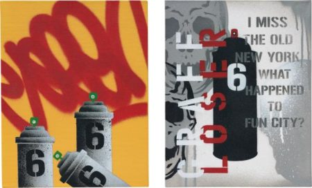 SEEN-Two Works: (I) Graff Loser; (II) No. 6;-2007