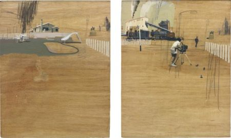 Charming Baker-Untitled (Diptych)-2007
