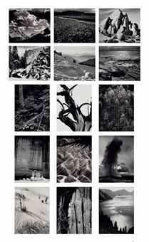 Ansel Adams-Portfolio II: The National Parks and Monuments-1950