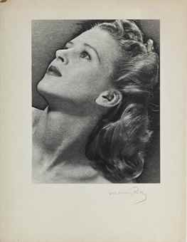 Man Ray-Untitled (Woman in profile)-1940