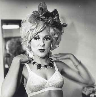 Peter Hujar-Black-Eyed Susan (Backstage at Camille)-1974