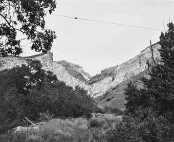 Robert Adams-Wasatch Mountains, Near Willard, Utah-1979