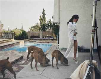 Larry Sultan-Boxers, Mission Hills-1999