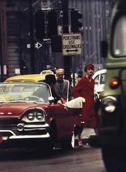 William Klein-Cruiser + Anne St. Marie, New York-1962