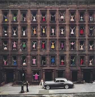 Ormond Gigli-Girls in the Windows, New York City-1960