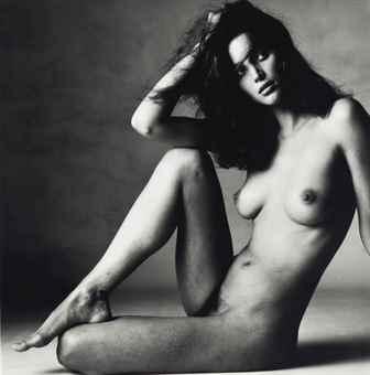 Irving Penn-Nude Christy Turlington, New York-1993
