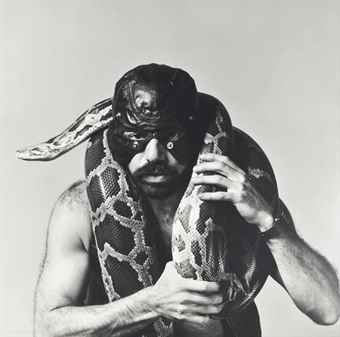 Robert Mapplethorpe-Snakeman-1981