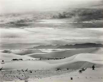 Brett Weston-White Sands, New Mexico-1946