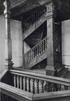 Albert Renger-Patzsch-Doppelwendeltreppe (Double Spiral Staircase), Augsburg-1940