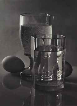 Josef Sudek-Still Life with Egg-1954