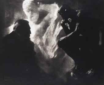 Edward Steichen-Rodin, 'Le Penseur', Paris-1902