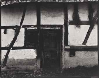 Paul Strand-Barn Facade, Haut Rhin-1950