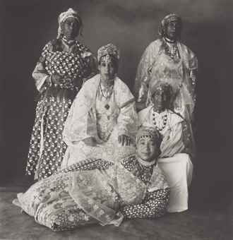 Five Moroccan Women-1971