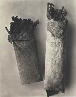 Irving Penn-Cigarette #34, New York-1972